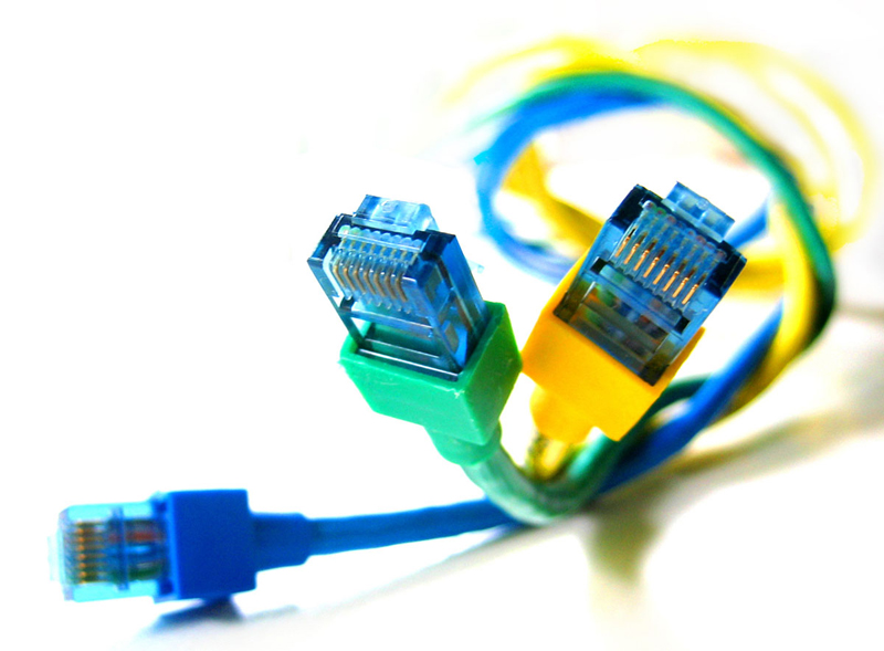 Computer-Netzwerk-Kabel